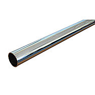Chrome Covered Copper Pipe 15mm x 1m