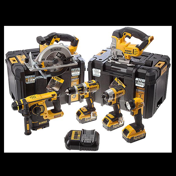 DeWalt DCK699M3T 18 Volt XR 4.0Ah Li-Ion 6 Piece Cordless Kit