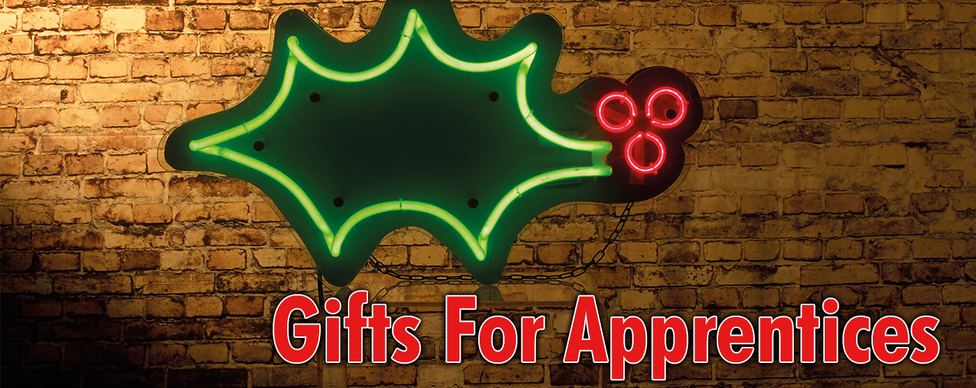 Great Gifts For Apprentices This Christmas