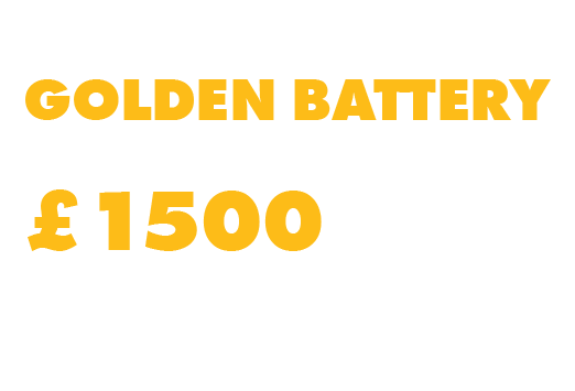Find the Golden FlexVolt Battery to win £1500 SSP of DeWalt Tools
