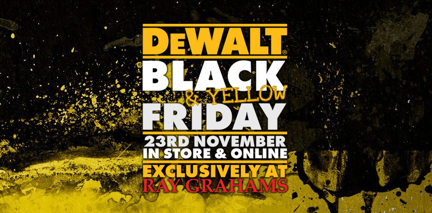 Black and Yellow Friday 2018 at Ray Grahams