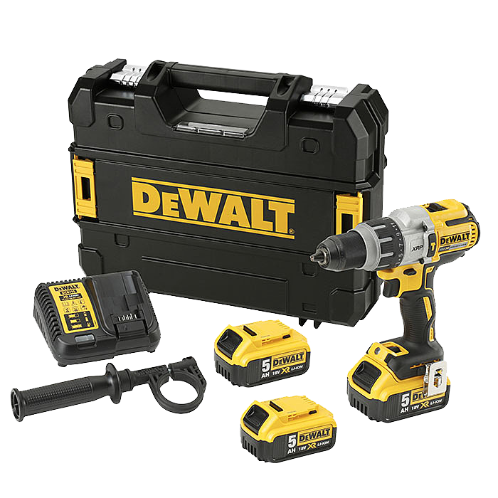 DEWALT DCD996P2T With Extra 5.0Ah Battery