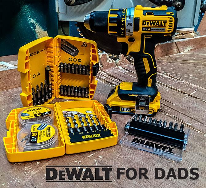 Fräscha Dewalt Father's Day Deal! £30 Off DCD790D2 Drill Driver + Free 67 HE-15